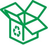 Box Recycling Logo
