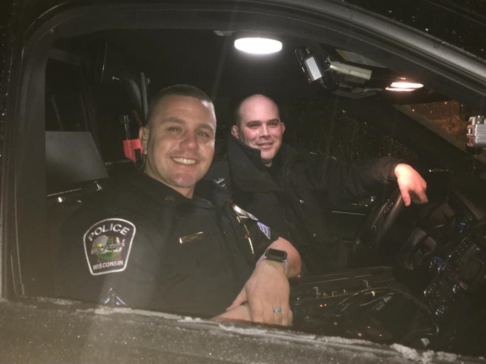 Sergeant Ray Thomson and Sergeant Brandon Lingle