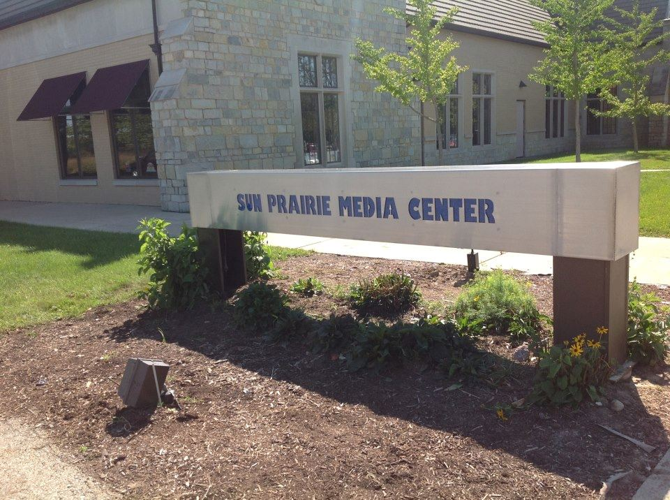 Sun Prairie Media Center Sign
