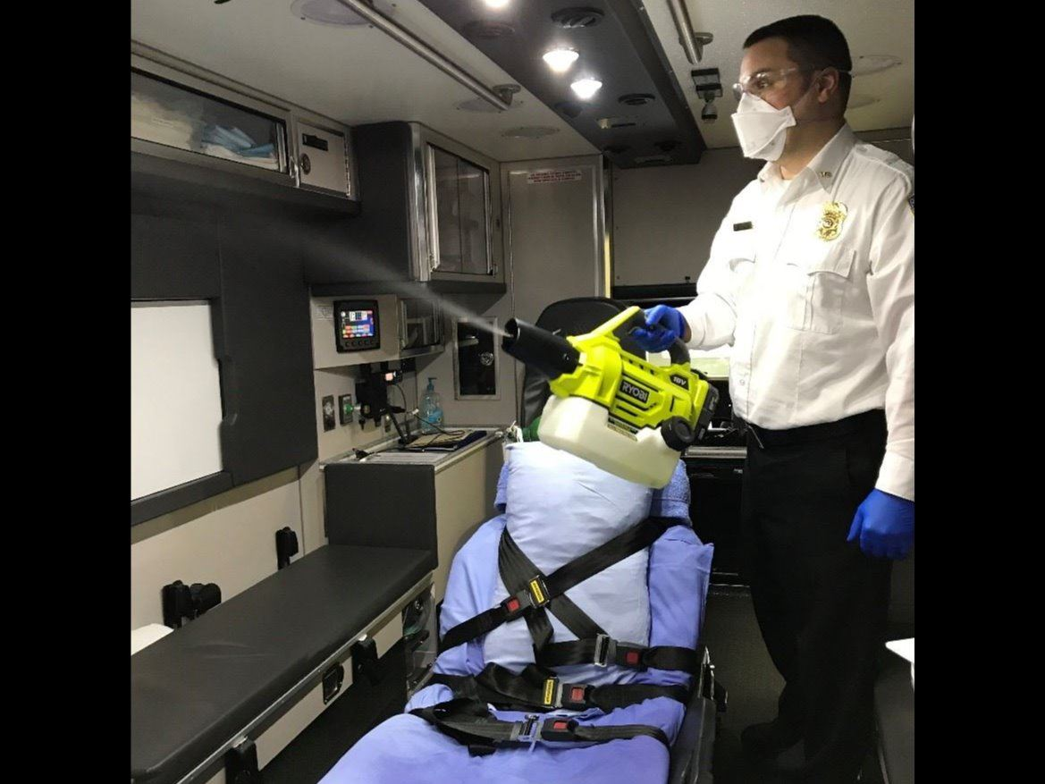 Emergency Medical Service Ambulance Sanitization