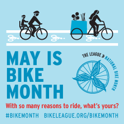 Bike to Work Month May