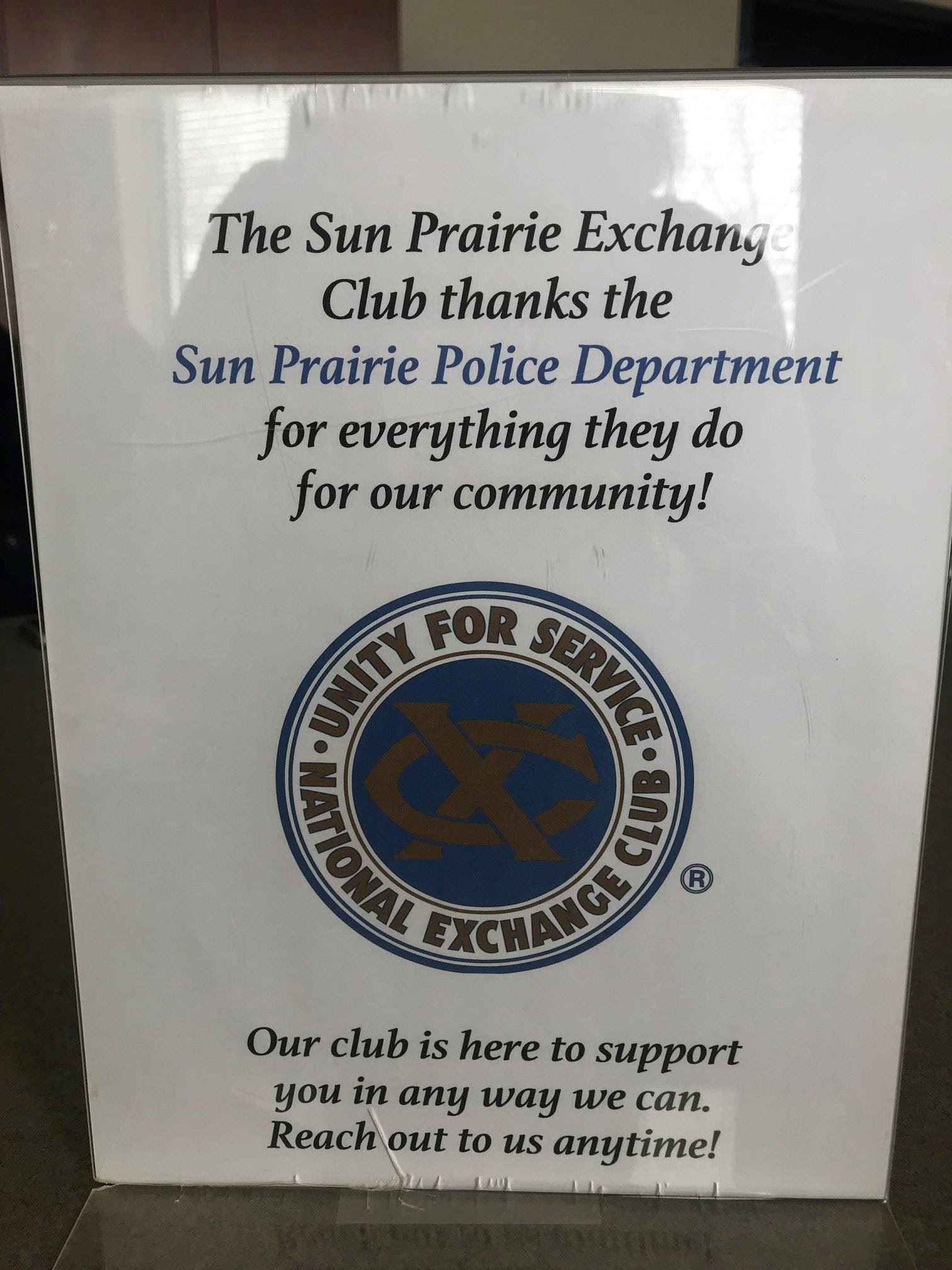 exchange club promotion