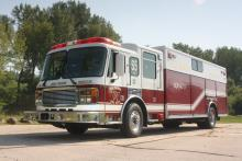 Squad 5 is a 1999 American LaFrance Heavy Rescue